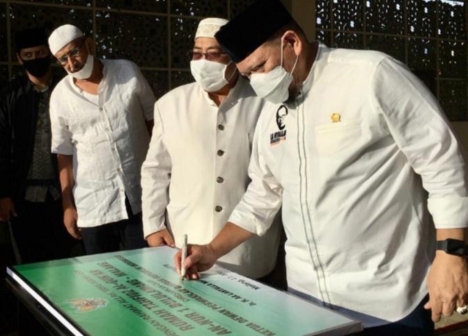 Resmikan Tahfidz Center, Ketua DPD Berharap Indonesia Jadi Negeri Penghafal Quran