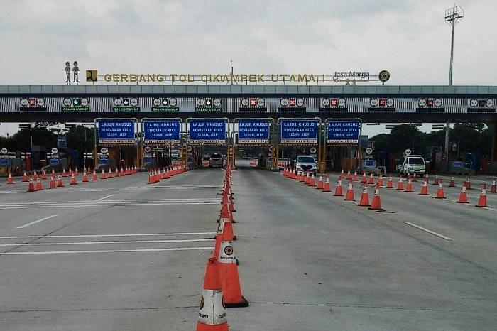 H1 Lebaran, Jasa Marga Catat 37 Ribu Kendaraan Tinggalkan Jakarta