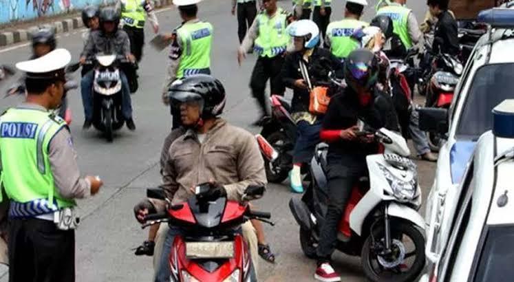 Pemotor Langgar PSBB Jakarta Bakal Kena Denda Rp250.000