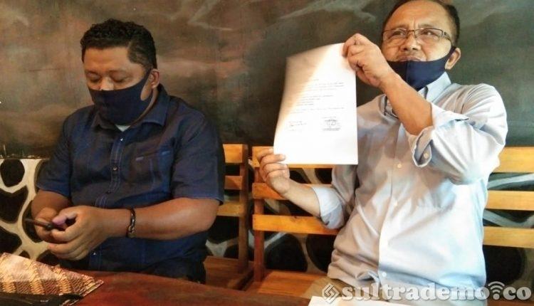 Bupati Konawe Utara Dilaporkan ke Distreskrimsus Polda Sultra atas Dugaan Korupsi