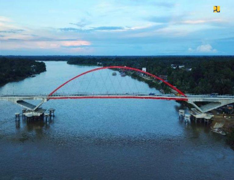 Rampung, Jembatan Tumbang Samba Diharap Dukung Konektivitas Lumbung Pangan Baru di Kalteng