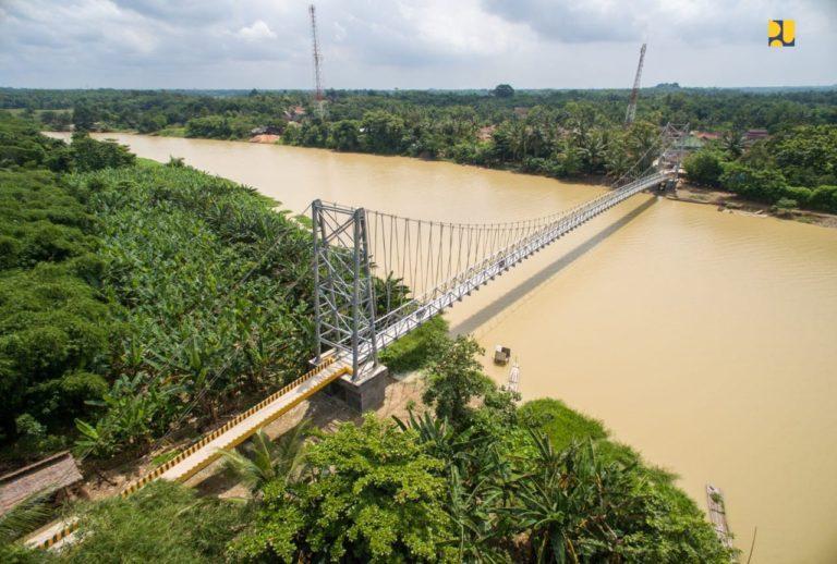 Anggarkan Rp 179,4 Miliar, Kementerian PUPR Bangun 38 Unit Jembatan Gantung di Tahun 2020