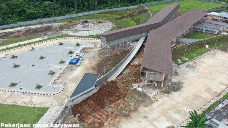 Progres Pengembangan Sarana dan Prasarana Penunjang PLBN Terpadu Skouw Indonesia-Papua Nugini