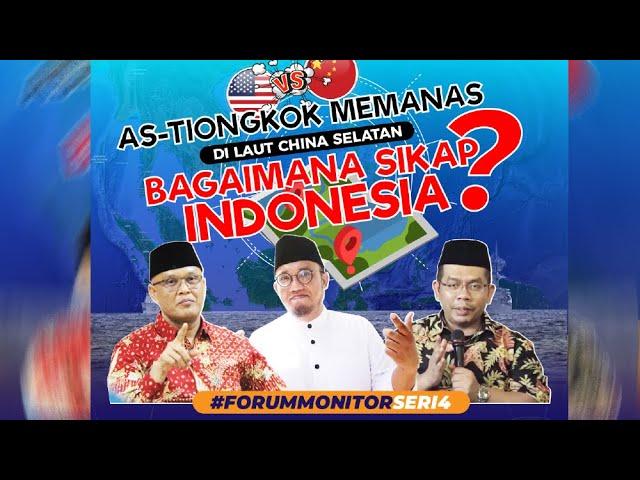 AS-Tiongkok Memanas di Laut China Selatan; Bagaimana Sikap Indonesia?