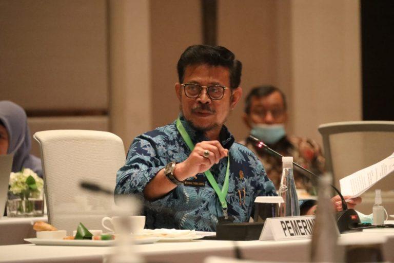Di Bangka Selatan, Mentan SYL Tegaskan Pentingnya Manajemen Air