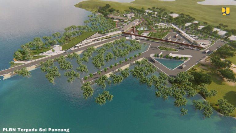 Mulai Konstruksi, PLBN Sei Pancang di Kalimantan Utara Ditargetkan Rampung Juli 2021