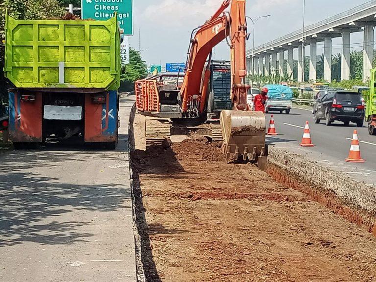 Jasa Marga Lanjutkan Pekerjaan Pemeliharaan Jalan Tol Jagorawi Sepanjang 255 M