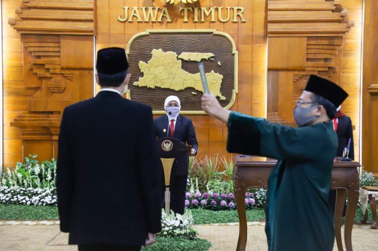 Sekda Sidoarjo Ditunjuk Gubernur Jatim Jadi Plh Bupati