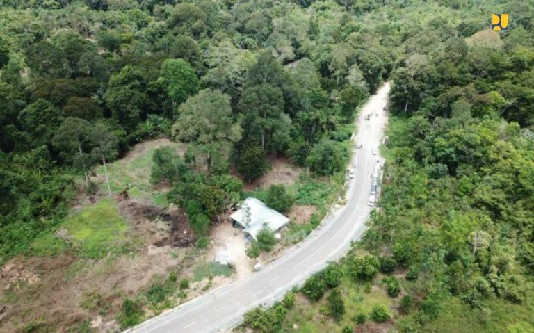 Pembangunan Jalan Perbatasan Indonesia-Malaysia di Kalimantan Utara Kembali Dilanjutkan