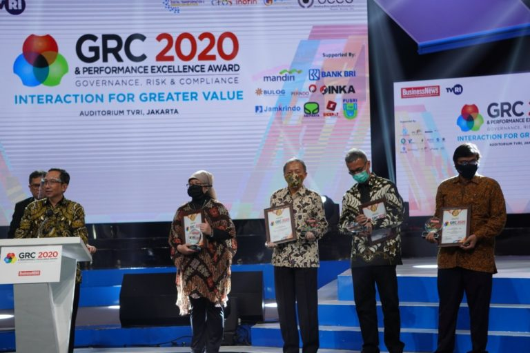 Jasa Marga Raih Penghargaan The Best GRC For Compliance & Risk Management 2020