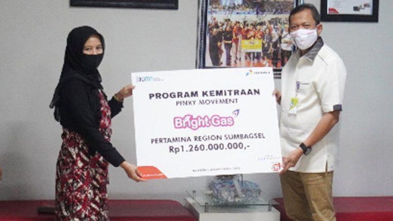 Dukung UMKM Bangkit, Pertamina Salurkan Rp1,2 Miliar Lewat Program Pinky Movement