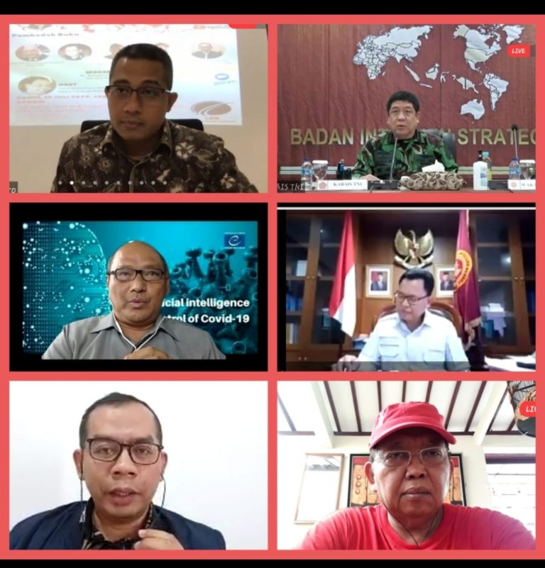 Hadapi Pandemi Global ke Depan, Indonesia Didorong Inisiasi Lahirnya 'Global Risk Society'