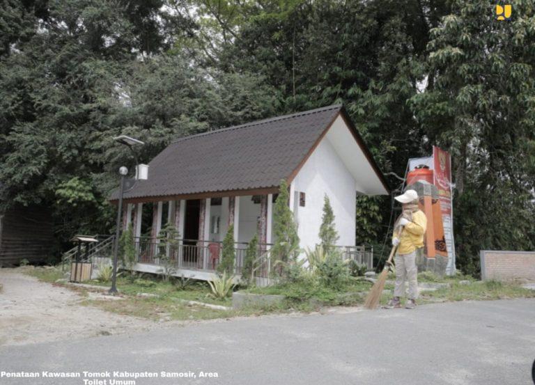 Masa New Normal, Pemerintah Mulai Melakukan Penataan Kampung Ulos Samosir