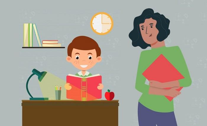 Tips Agar Orangtua Tidak Stres Dampingi Anak Ikuti PJJ