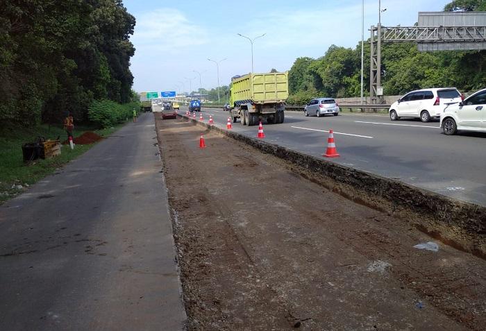 Jasa Marga Kembali Lanjutkan Rekonstruksi Jalan Tol Jagorawi Sepanjang 192 M