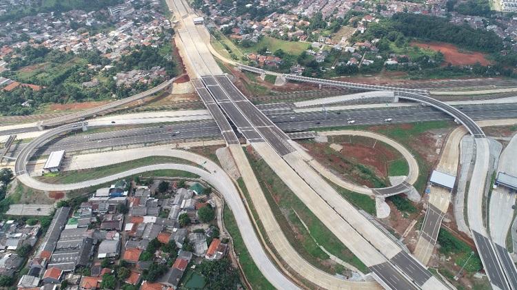 Jasa Marga Targetkan Konstruksi Jalan Tol Serpong-Cinere Rampung Oktober