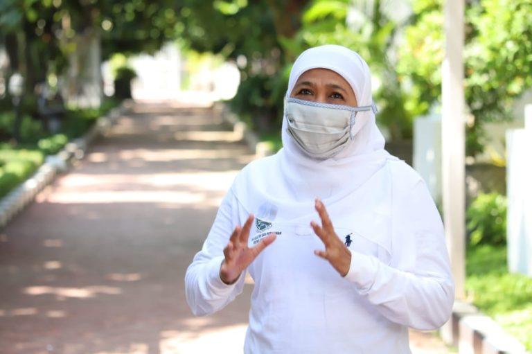 Khofifah Serukan Masyarakat Jatim Jaga Ketat Protokol Kesehatan Saat Gelar Salat Idul Adha
