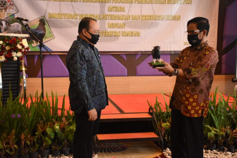 Kementan Kerjasama dengan Unud Bali Dukung Program Sikomandan