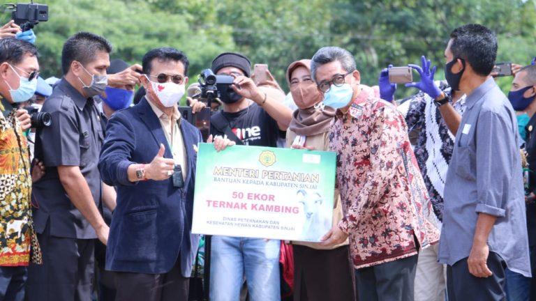 Mentan Syahrul Dorong Sulsel Jadi Lokomotif Ternak Sapi Kerbau Nasional