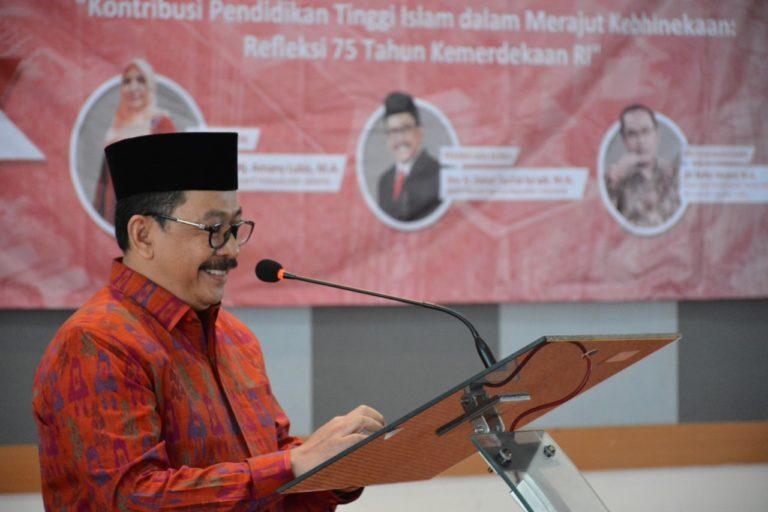 Hadiri Milad ke-63, Wamenag Dukung UIN Jakarta Jadi Universitas Generasi Ketiga