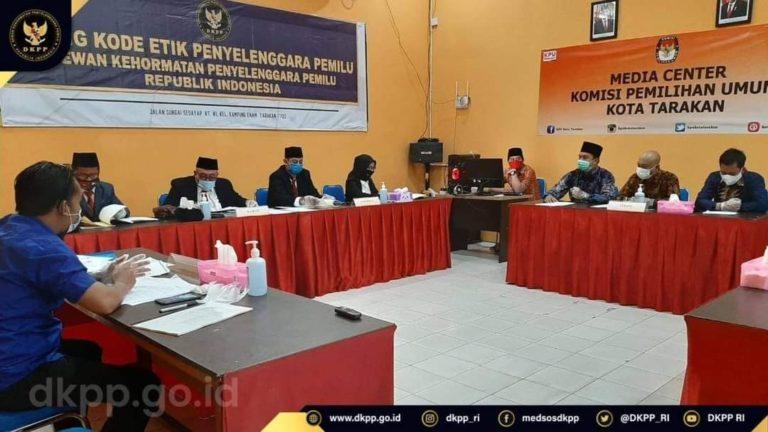 Diperiksa DKPP, Bawaslu Tana Tidung Bantah Tolak Laporan Masyarakat