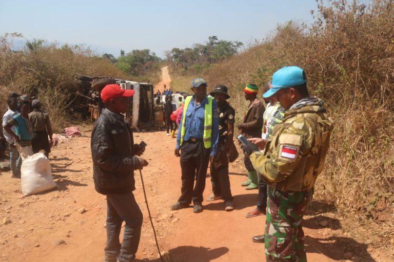 TNI Evakuasi Korban Penghadangan Bandit Bersenjata di Kongo