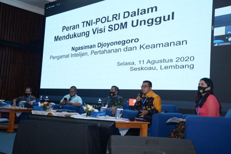 Integrasi TNI-Polri Jaga Stabilitas Keamanan Jadi Kunci Membangun SDM Unggul