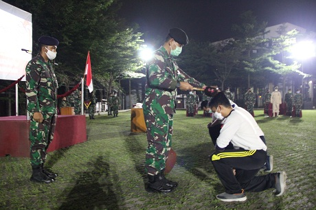 Rektor Unhan Tutup Penataran Bela Negara Dosen Baru Fakultas dan Prodi S1