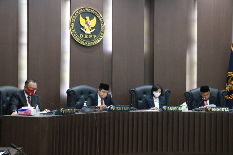 DKPP Minta TPD Pahami Kode Etik Pemilu