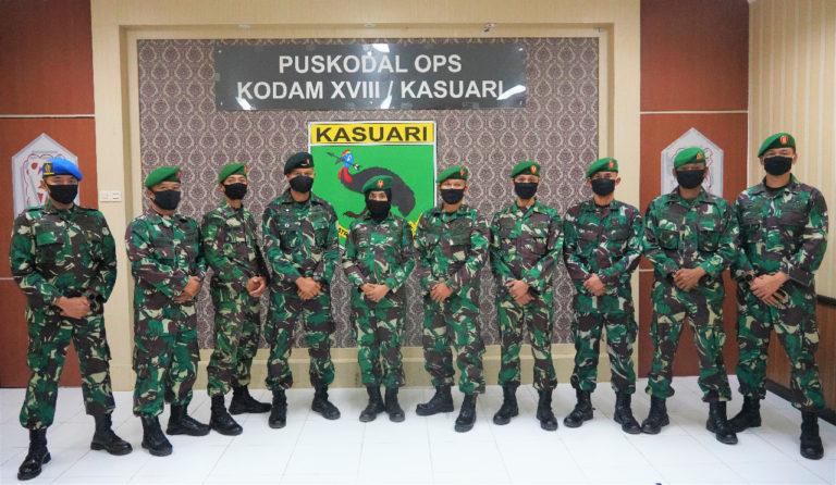 10 Kapten Kasuari Ikuti Diklapa II TNI AD