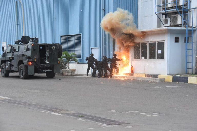 Koopssus TNI Gelar Latihan Penanggulangan Terorisme di Cilegon