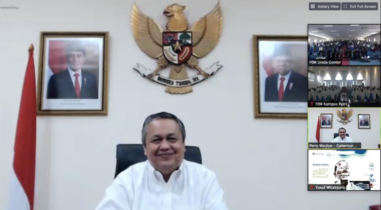 Vaksin Covid-19 Tiba, Gubernur BI: Sinergi dan Optimisme Pemulihan Ekonomi Perlu Dibangun
