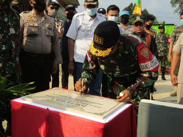Yonif 133 Resmikan TMP Dwikora di Perbatasan