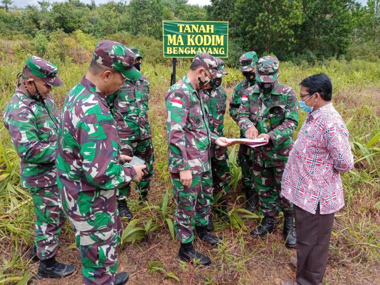 Perkuat Pertahanan Perbatasan, Kodam Tpr Harap Pembangunan Kodim Bengkayang Segera Terealisasi