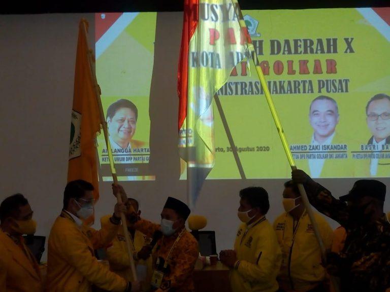 Golkar Jakpus Siap Dorong Zaki Iskandar Gantikan Anies Baswedan