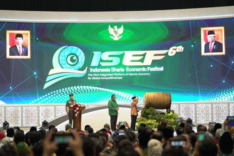 Kick Off ISEF 2020, Wapres RI: Pelaku Usaha Syariah Perlu Adaptasi Kebiasaan baru