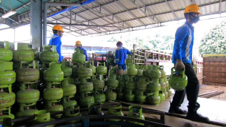 Pertamina Tambahkan 149.160 Tabung LPG 3 Kg di Pontianak