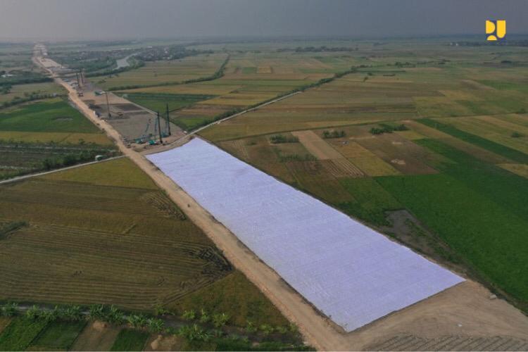 Progres Pembangunan Tol Semarang – Demak Seksi 2