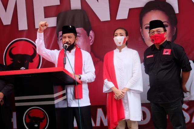 Sah! Keponakan Prabowo Diusung PDIP Maju Jadi Cawalkot Tangsel