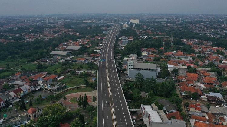 Konstruksi Jalan Tol BORR Seksi 3A Capai 99,139 Persen