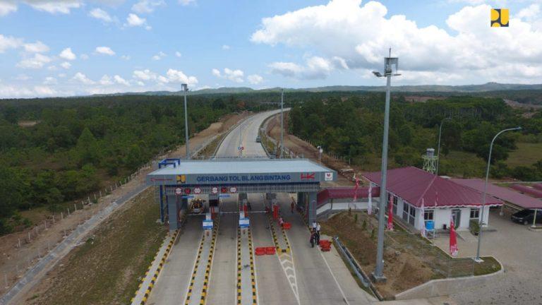648 Km Jalan Tol Trans Sumatera Sudah Beroprasi