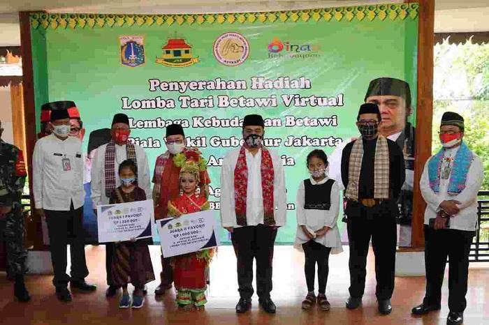 Wagub DKI: Budaya Betawi Tak Boleh Habis Terkikis Zaman