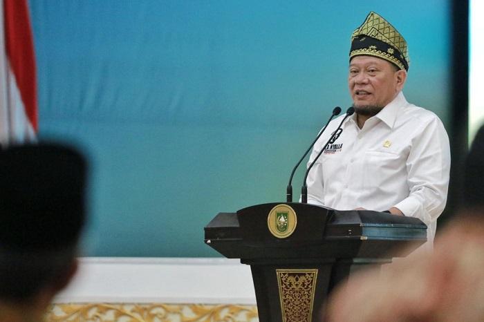 LaNyalla Kenalkan Tagline DPD RI 'Dari Daerah Untuk Indonesia'