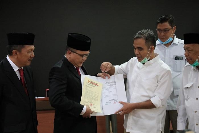 Maju di Pilgub Kalsel, Denny Indrayana Kantongi Surat Rekomendasi Gerindra