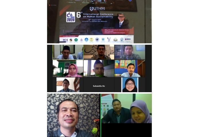 Rektor UIN Banten Apresiasi Kegiatan International Conference on Human Sustainability UTHM