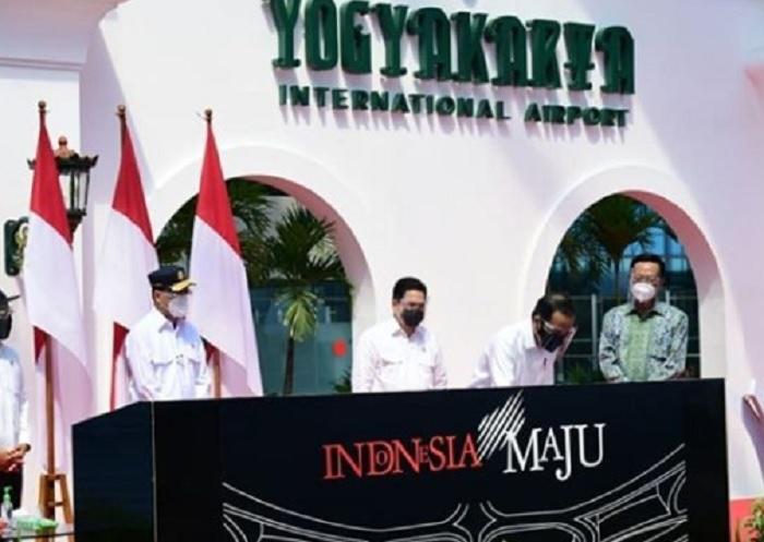 Sah! Jokowi Resmikan Bandara Internasional Yogyakarta