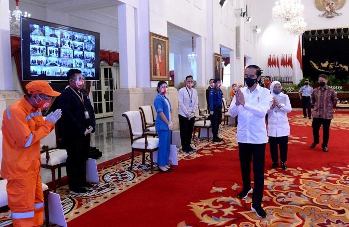 Subsidi Gaji Pekerja Sudah Cair, Begini Harapan Jokowi