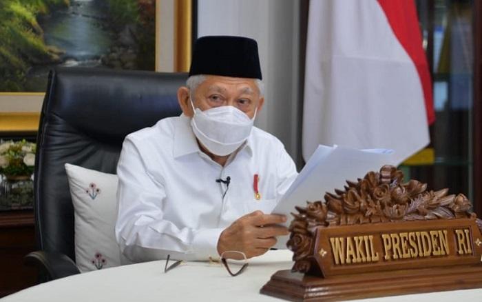 Ma'ruf Amin Paparkan Tiga Kunci Pengembangan Green Finance