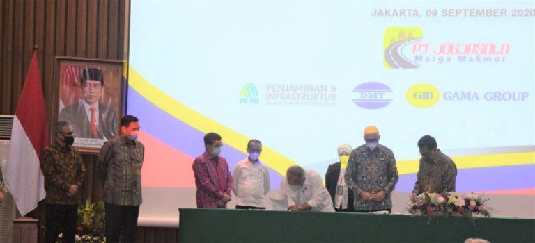 Konsorsium Swasta-BUMN Teken PPJT dan Penjaminan Proyek Jalan Tol Solo-Yogyakarta-NYIA Kulon Progo