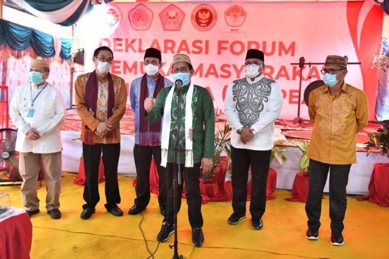 Kemendes, BNPT dan BPIP luncurkan Program Desa Damai di Gorontalo